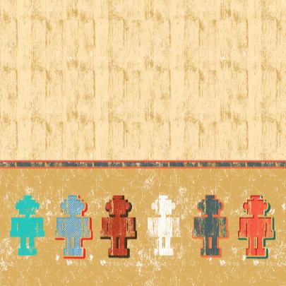 Verjaardagskaarten Robot jongen 3
