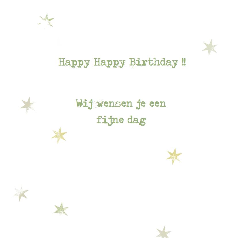 Verjaardagskaarten waterverf -YO 3