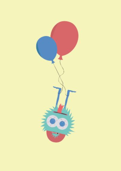 Verjaardagskaartje Feestvarken! 2