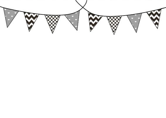 Verjaardagskaartje Vlaggetje 3