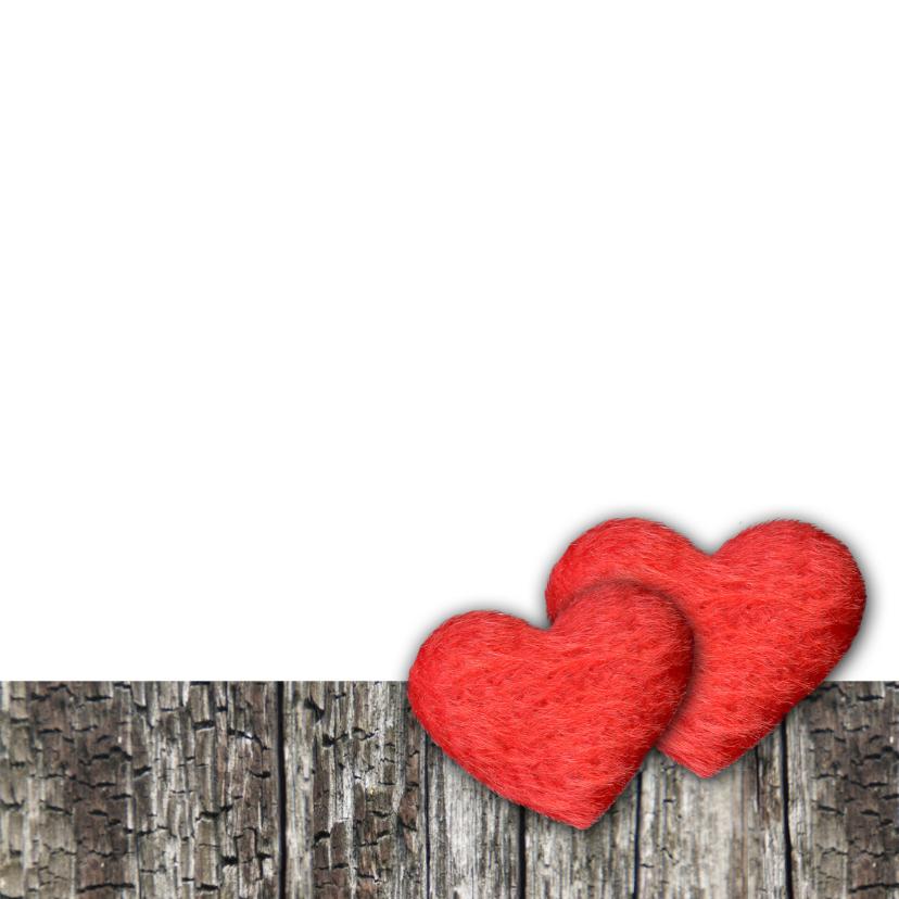 Verliefd valentijn hartjes liefde eigen tekst 3