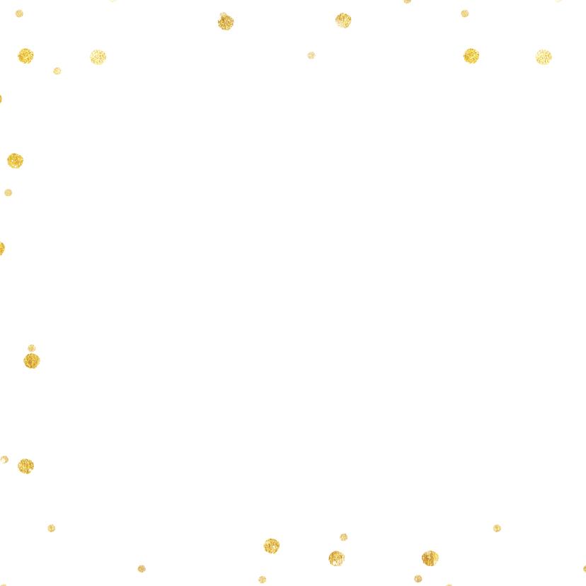 Vierkante kerstkaart met grote foto en rand met sneeuw  2