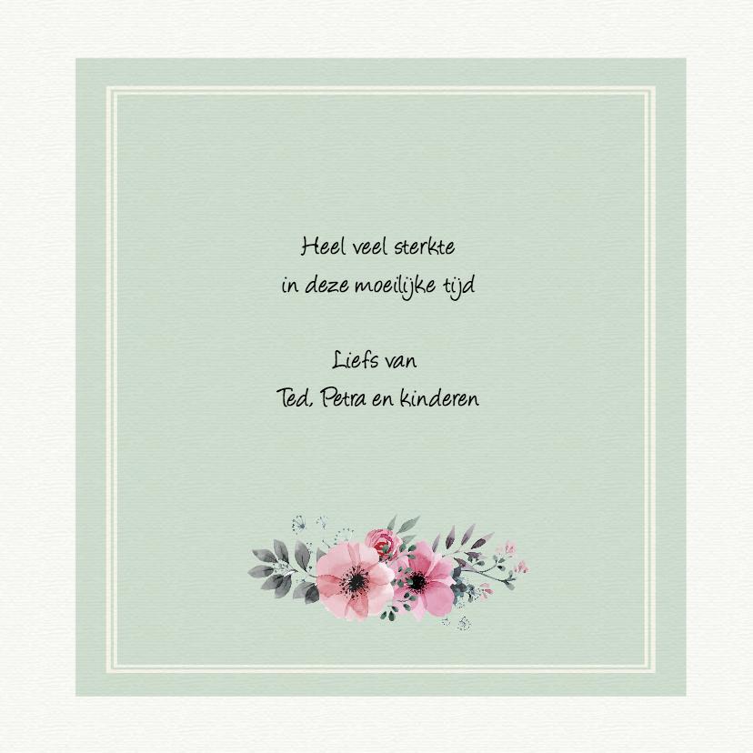 vintage bloemenkaartje 3