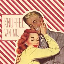Valentijnskaarten - Vintage Knuffel van mij