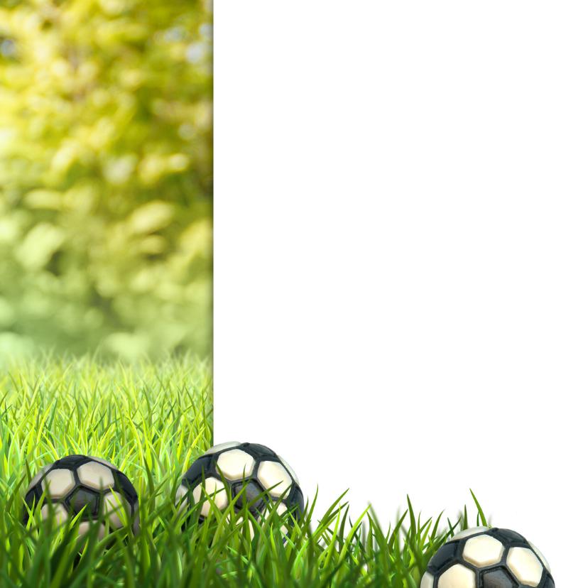Voetbal Communie foto stoer 2