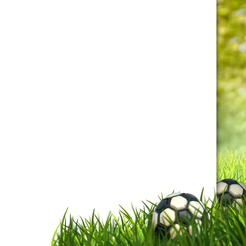 Voetbal Communie foto stoer 3