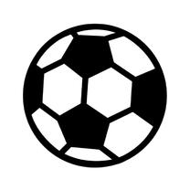 Coachingskaarten - Voetbal Zwart wit