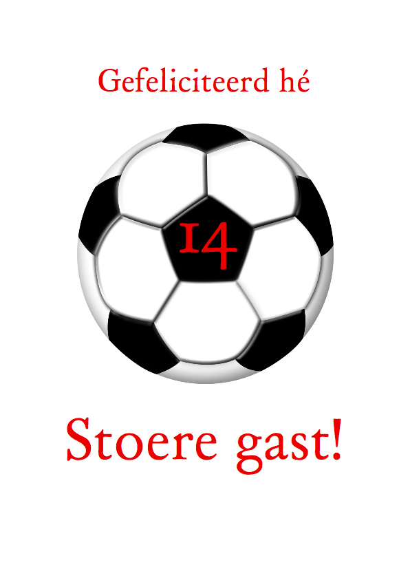 Voetbalshirt zelf invullen j 2