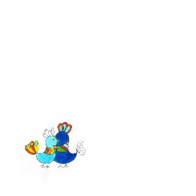 Vogel Knuffel kaart 2 2