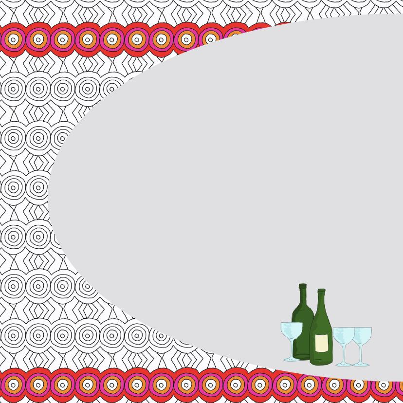 Vriendschap kaart wijntje doen 2