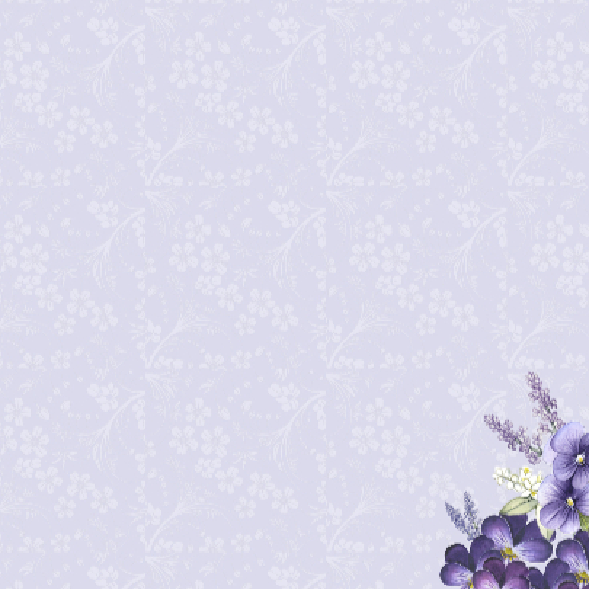 Vriendschap lavendel in glas 3