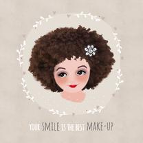Vriendschap kaarten - Vriendschap your smile - LT