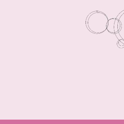 vrolijk geboortekaartje 56 roze cirkels 2