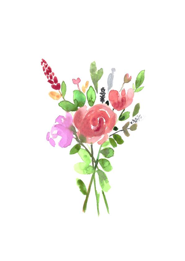 Vrolijke beterschap bloemen om je op te vrolijken 2