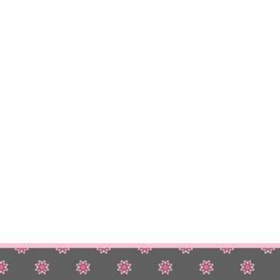 vrolijke geboortekaart 61 bloemen 2
