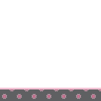 vrolijke geboortekaart 61 bloemen 3