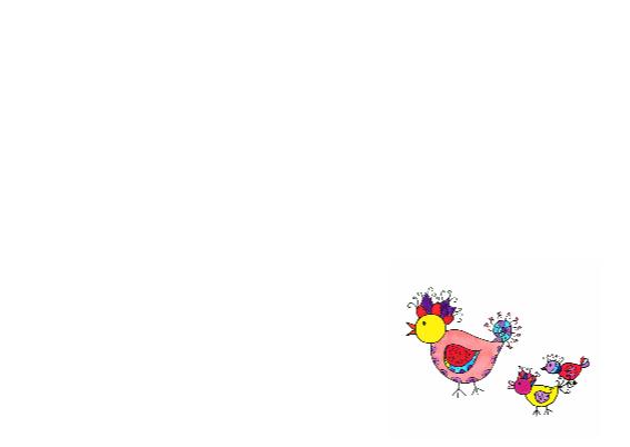 Vrolijke vogels gefeliciteerd 3