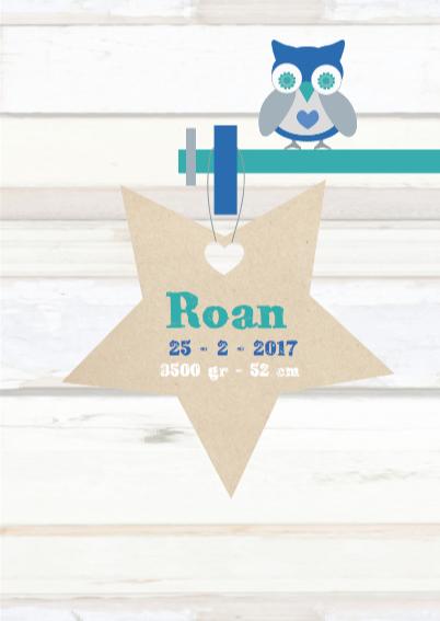 Wegwijzer Sloophout kaartje Roan 3