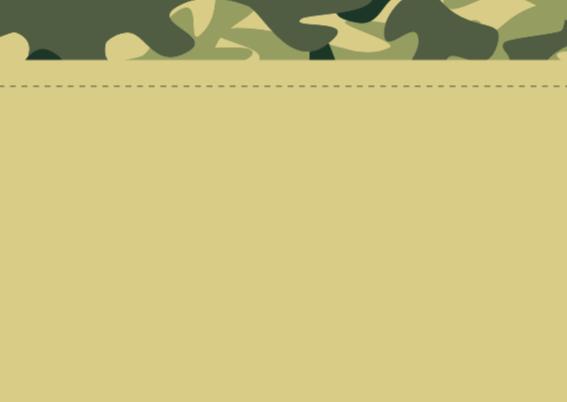 Wenskaart leger camouflage 2