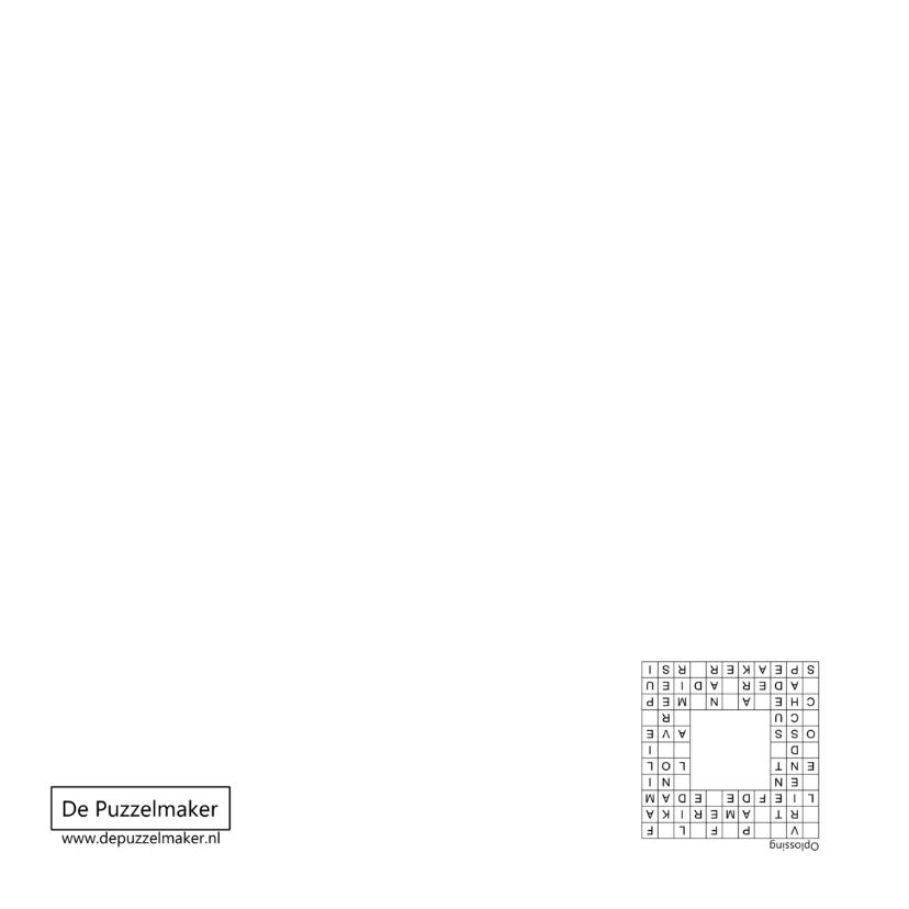 Wenskaart met Zweedse puzzel en eigen foto 2