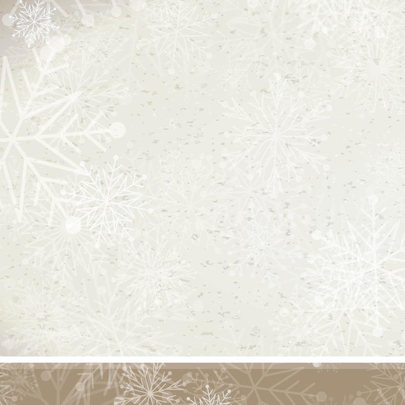 Winterwonderland trouwkaart  2