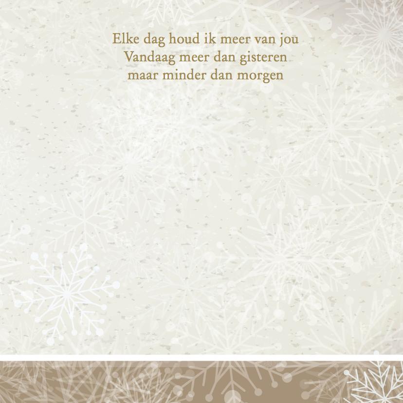 Winterwonderland trouwkaart  3