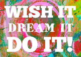 Coachingskaarten - Wish it dream it do it