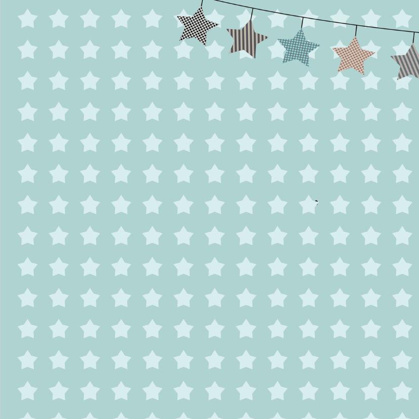 Wolkje Kerstkaart sterretjes 2