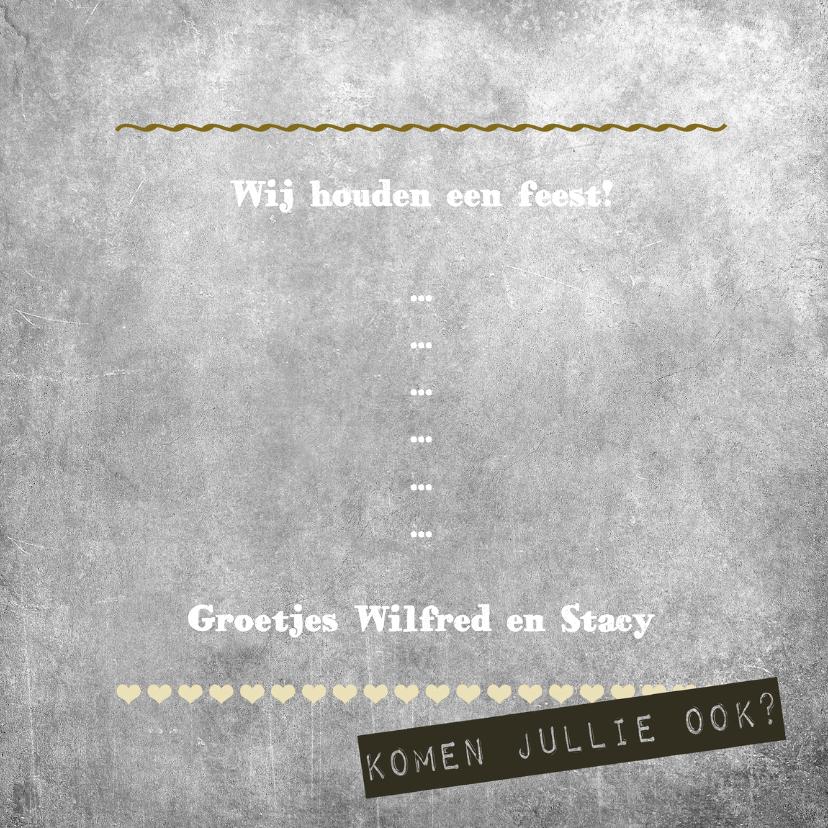 Woorden Krijtbord Jubileum 3