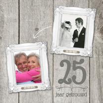 Jubileumkaarten - XX  jaar getrouwd jubileumkaart