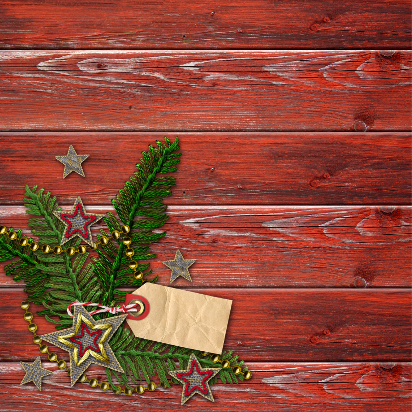 YVON eigen foto rood hout label vk 2
