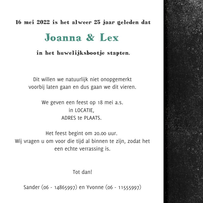 YVON jubileum kaart getrouwd 3