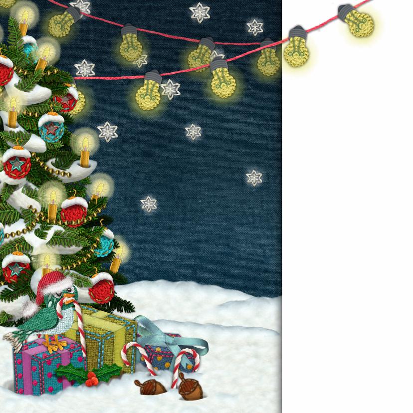 YVON kerst landschap hond 2