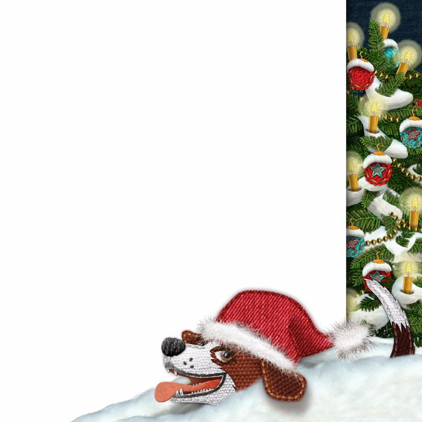 YVON kerst landschap hond 3