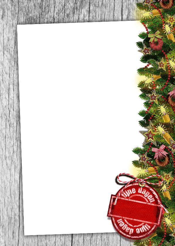 YVON kerst takken kaarsjes st 3