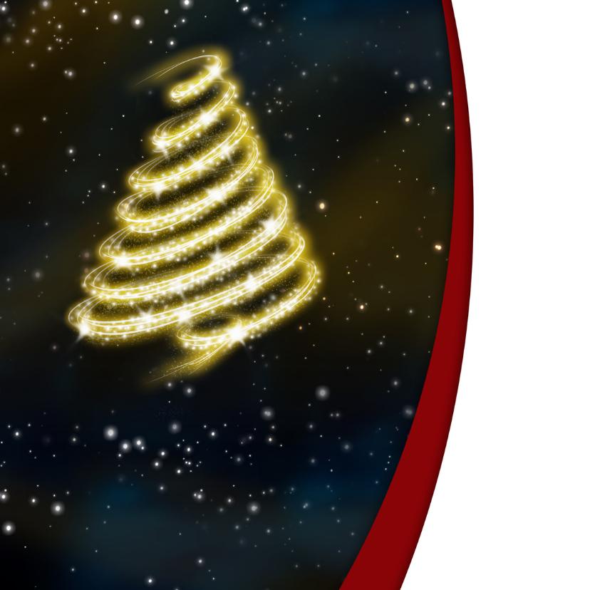 YVON kerstboom bling blauw 2