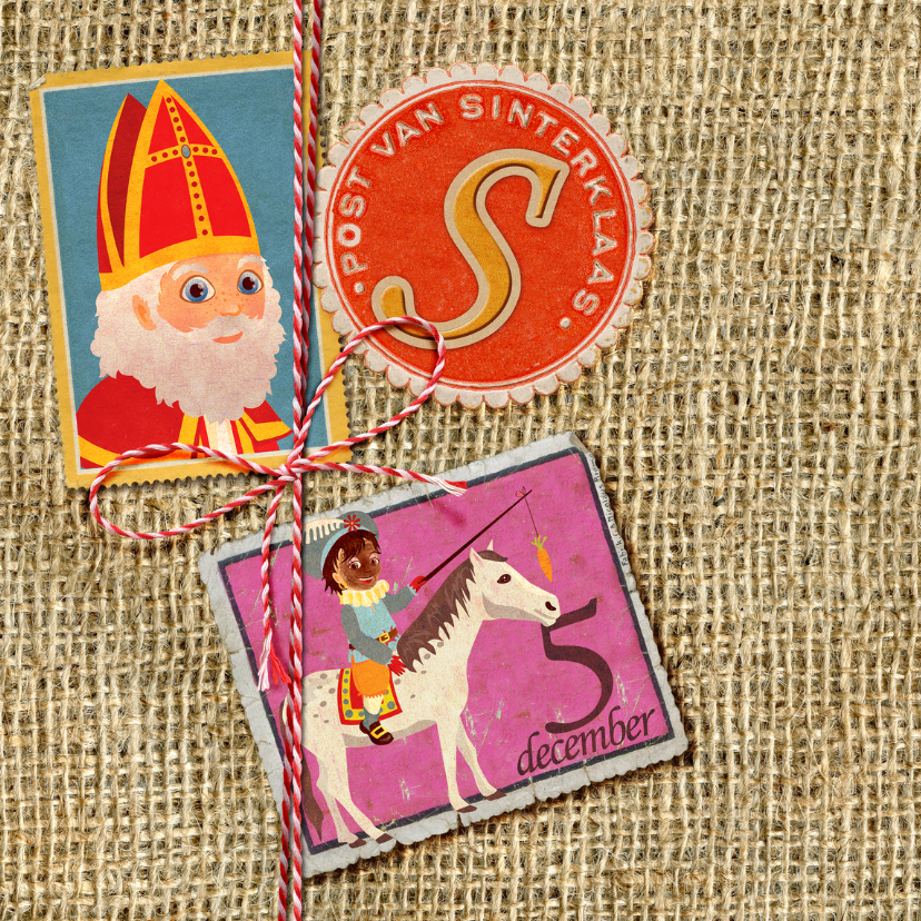 YVON sinterklaas hip cool zegels 2