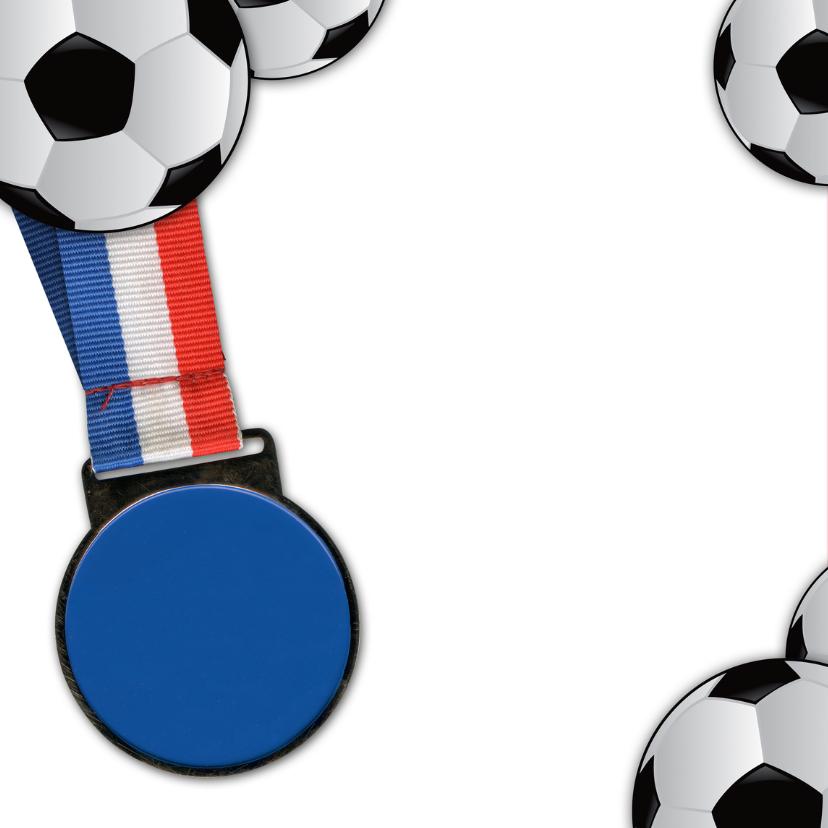YVON voetbal eigen foto medaille 2