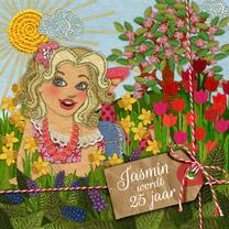 YVON voorjaar meisje label vk