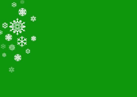Zakelijk groene kerstkaart - foto - logo 2