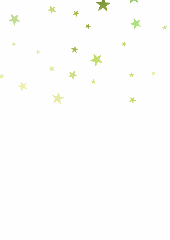 Zakelijke kerstkaart kerstboom sterren 2