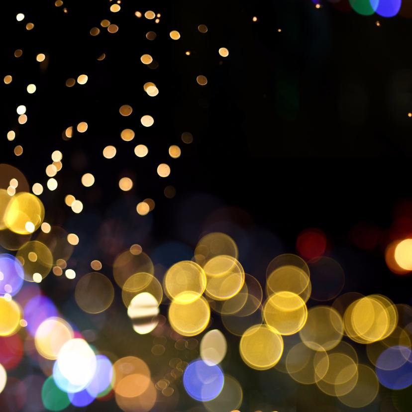 Zakelijke Kerstkaart - neon lichtjes 2