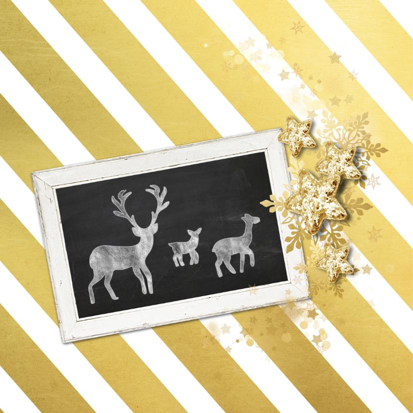 Zakelijke kerstkaart streep - SG 2