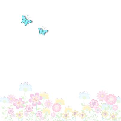 Zeg het met bloemen en vlinders 2