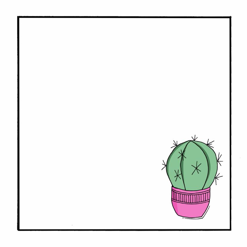 Zomaar cactus lookin sharp - ST 3
