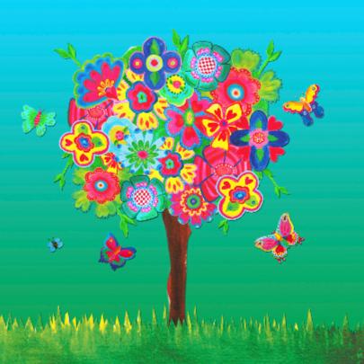 Zomaar kaarten Vlinderboom PA 2