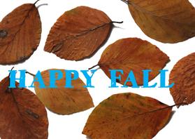 Zomaar kaarten - zomaar kaartje Fall