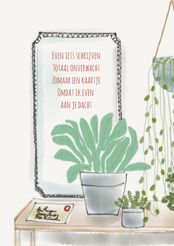Zomaar kaartje Planten 2