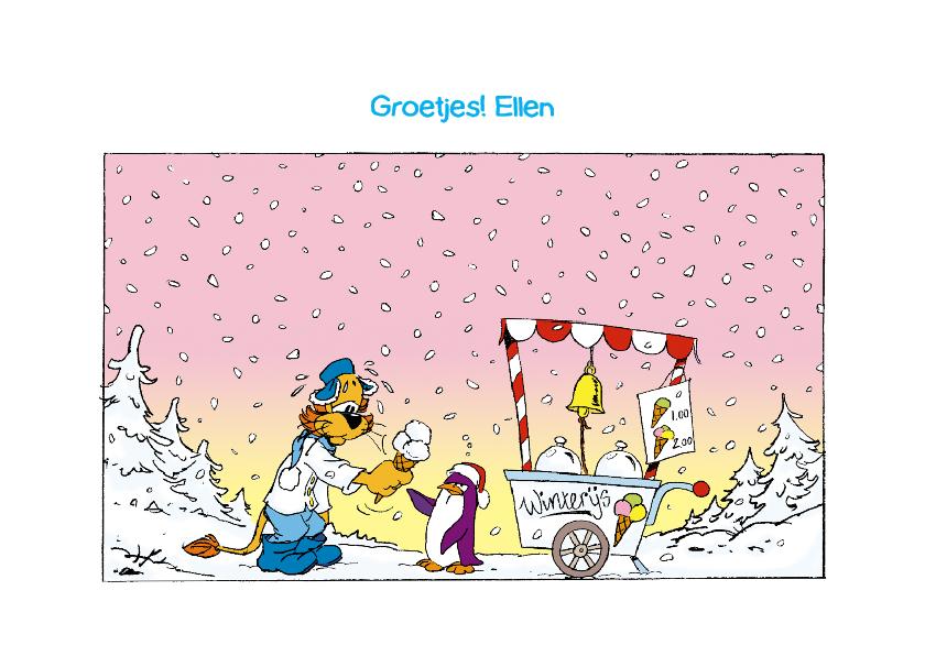 Zomaar Loeki strip winterijs - A 3