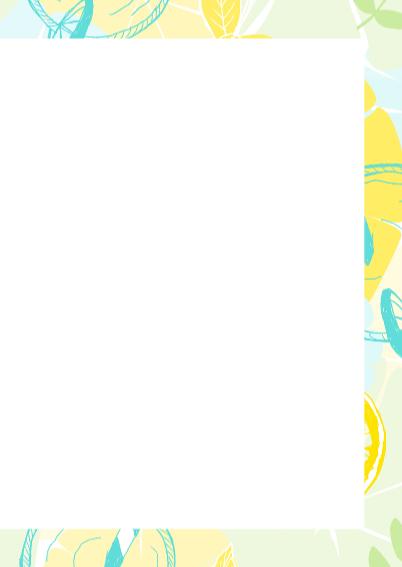 Zomerse kaart met limonade 3